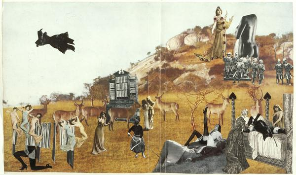 Untitled collages (1960)