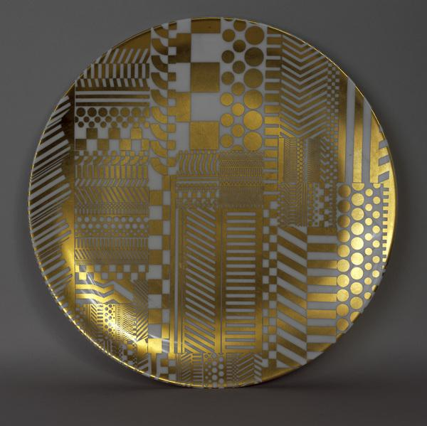 Plate (Variations on a Geometric Theme) (1968 - 1969)