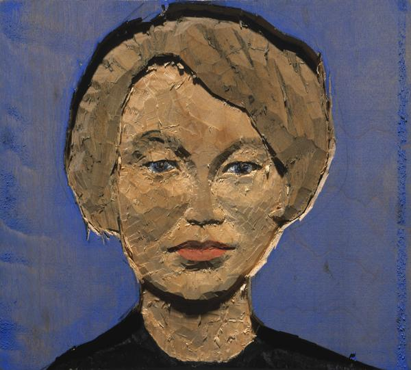 Kleines Kopfrelief: Frau [Small Head Relief: Woman] (1995)