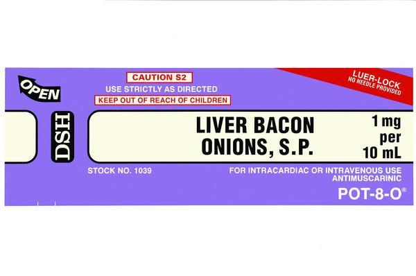 Liver Bacon Onions (from 'The Last Supper') (1999)
