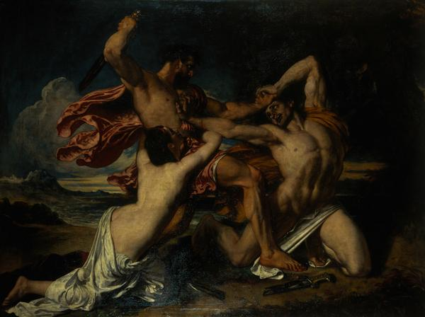 The Combat: Woman Pleading for the Vanquished