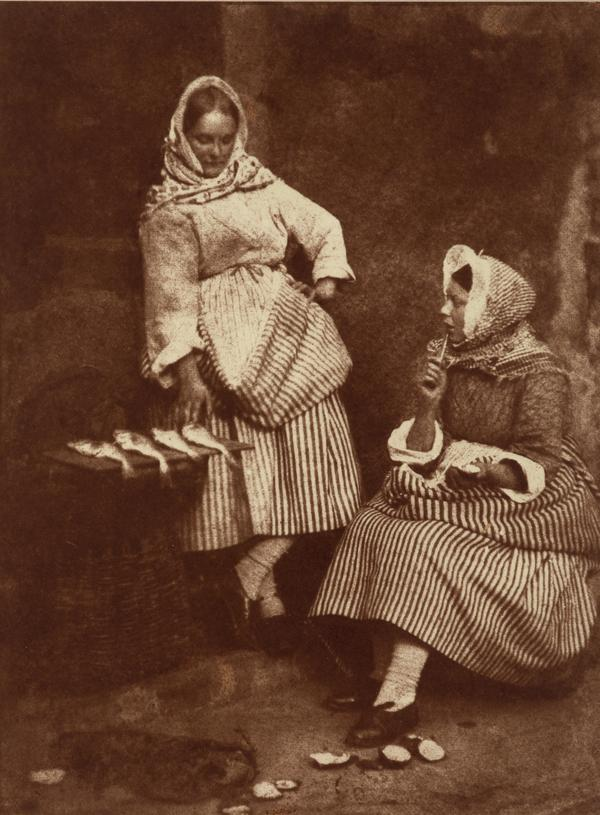 Jeanie Wilson and Annie Liston (Newhaven 24) (1843)