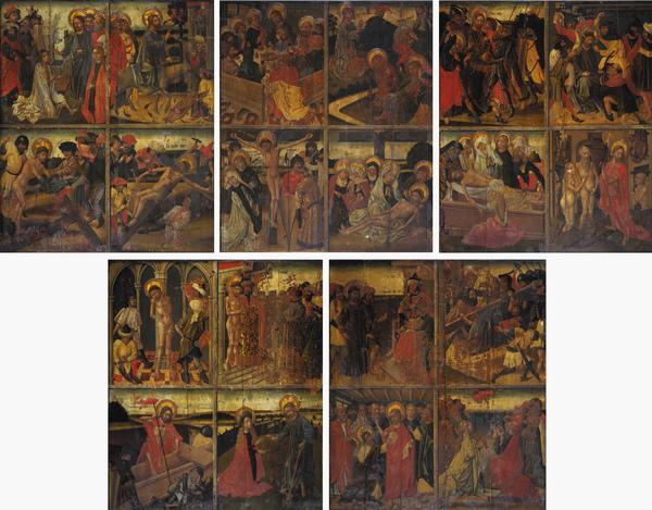 Twenty Scenes from the Life of Christ (15th century)
