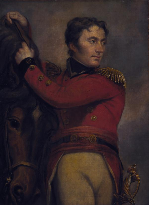 Lieutenant-General Sir John Moore, 1761 - 1809. Soldier (Fragment of The Death of Abercromby)
