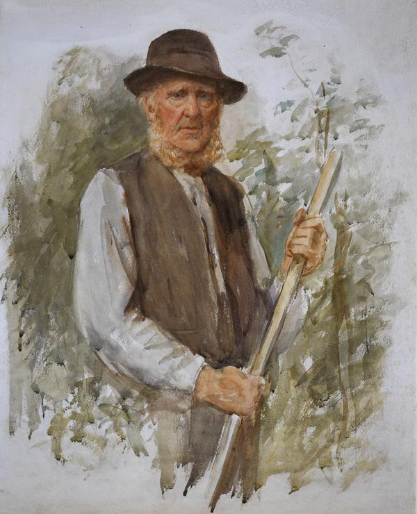 James Grieve, 1841 - 1924. Horticulturist (About 1920)