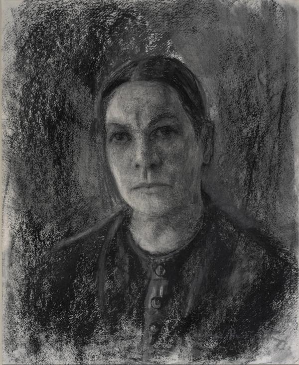Anne Redpath, 1895 - 1965. Artist (Self-portrait) (about 1940)