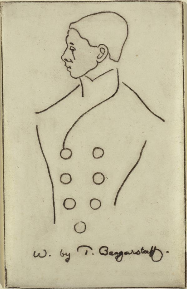 Sir William Nicholson, 1872 - 1949. Artist (Published 1897)