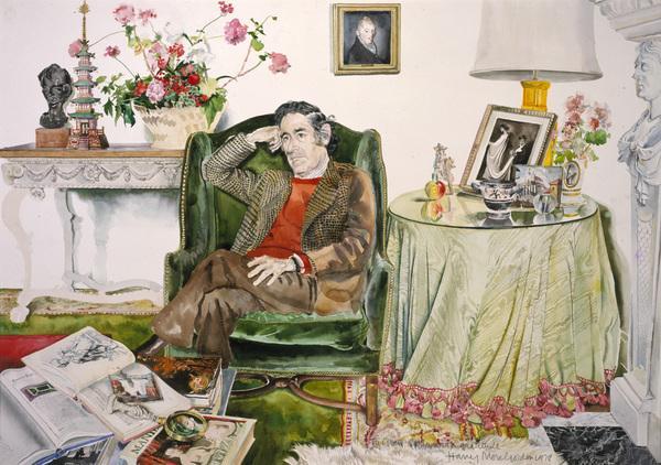Gian Carlo Menotti, 1911 - 2007. Composer (1978)
