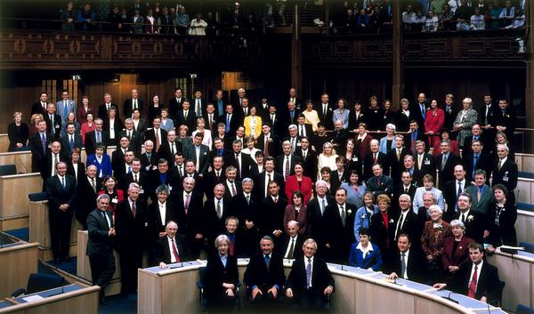 The First Meeting of the Scottish Parliament, 12 May 1999 (1999)