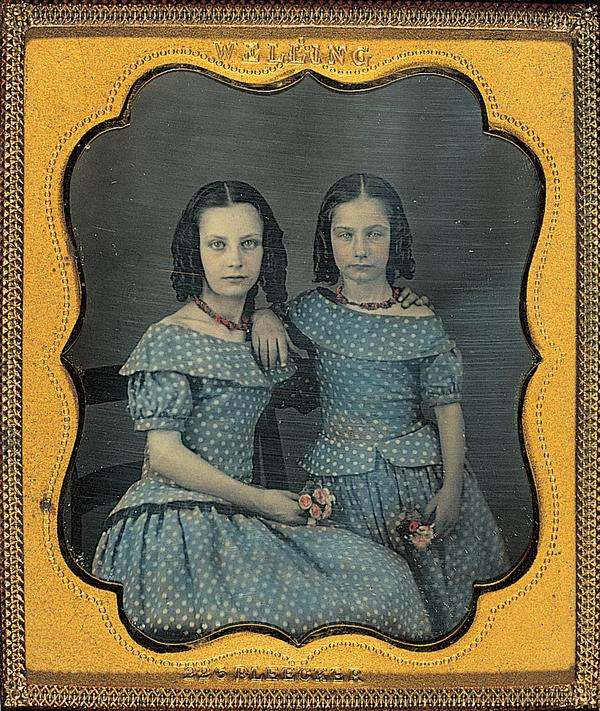 Two girls (About 1850)