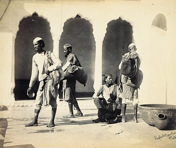 Bheesties (Between 1862 and 1868)