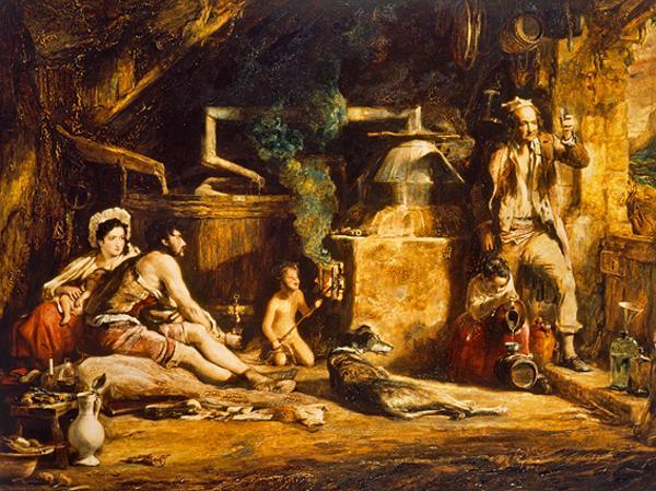 The Irish Whiskey Still (Dated 1840)