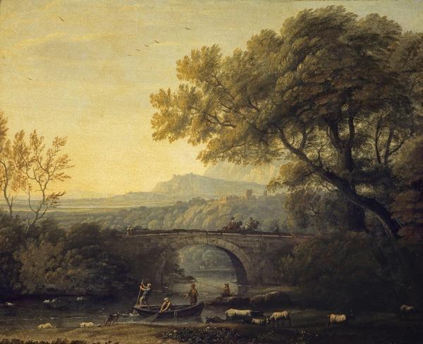 Landscape with a Bridge (About 1640 - 1682)