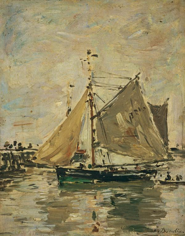A Fishing Boat, Trouville (About 1892 - 1896)
