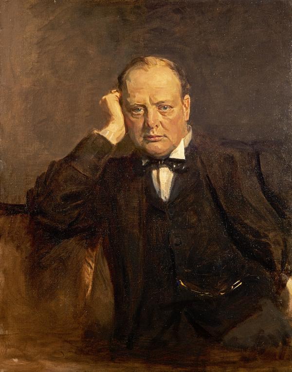Sir Winston Churchill, 1874 - 1965. Statesman (1918 - 1930)