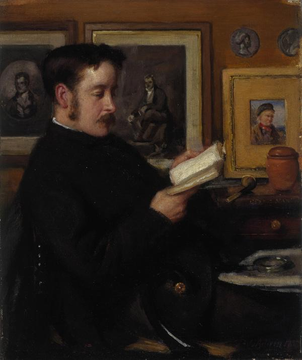 John Miller Gray, 1850 - 1894. Art critic and first curator of the Scottish National Portrait Gallery (1885)