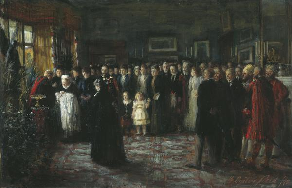 The Baptism of Prince Maurice of Battenberg (1891)