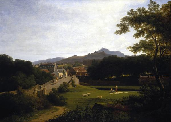 Edinburgh from Canonmills (about 1820)