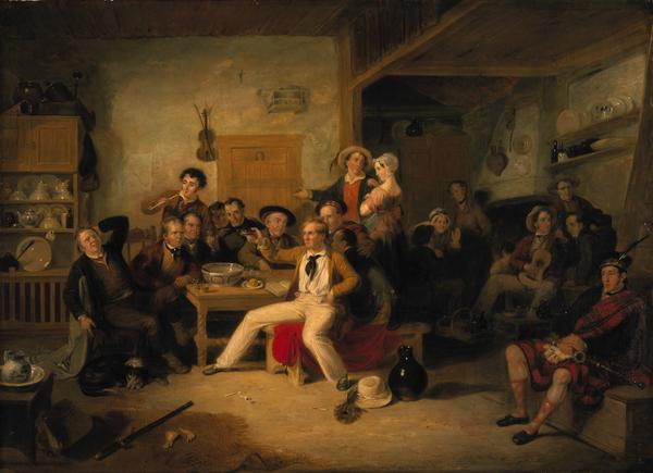 The Celebration of the Birthday of James Hogg, 1770 - 1835 (1823 or 1825)