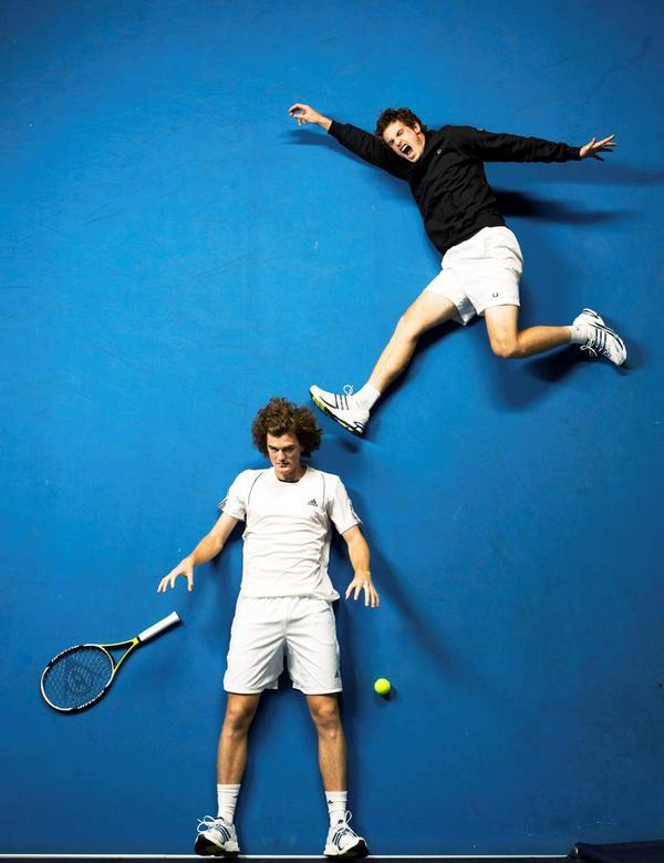 Jamie Murray, b.1986, and Andy Murray, b. 1987, Tennis Players