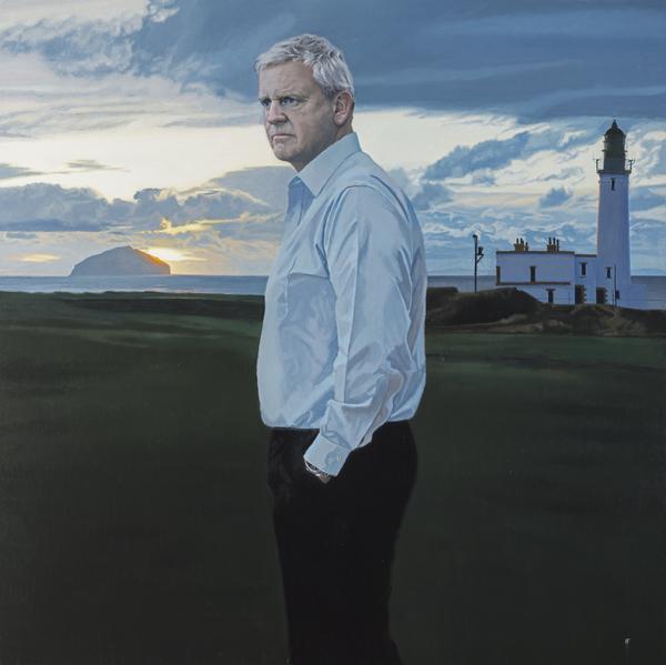 Colin Montgomerie, b.1963. Golfer