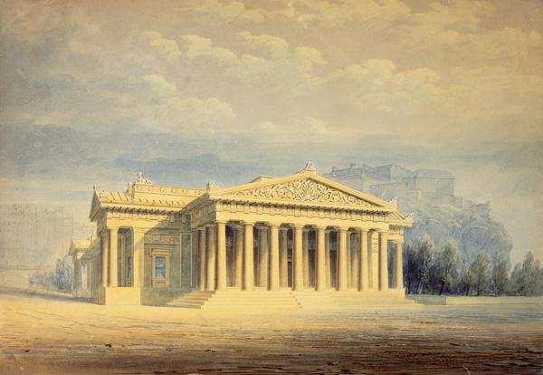 The Royal Institution, Edinburgh (now the Royal Scottish Academy) (1837 - 1839)