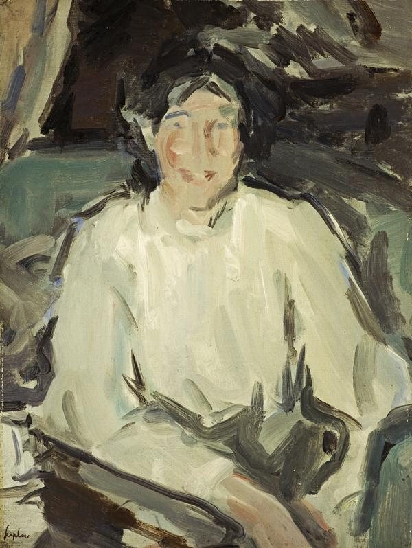 Portrait of the Artist's Wife (About 1907)