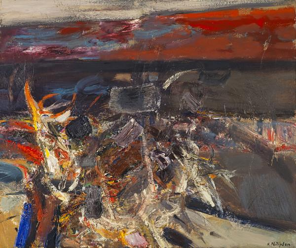 Burning at the Sea's Edge (About 1961)