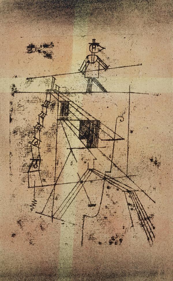 Seiltänzer [Tightrope Walker] (1923)