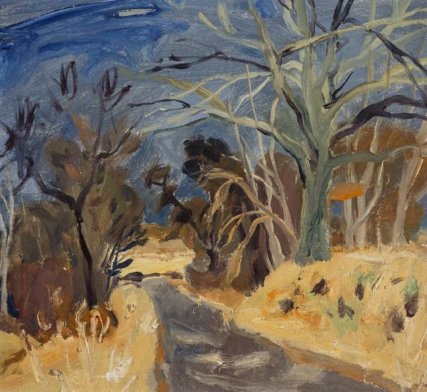 Roadway, Blue Sky (About 1945 - 1950)