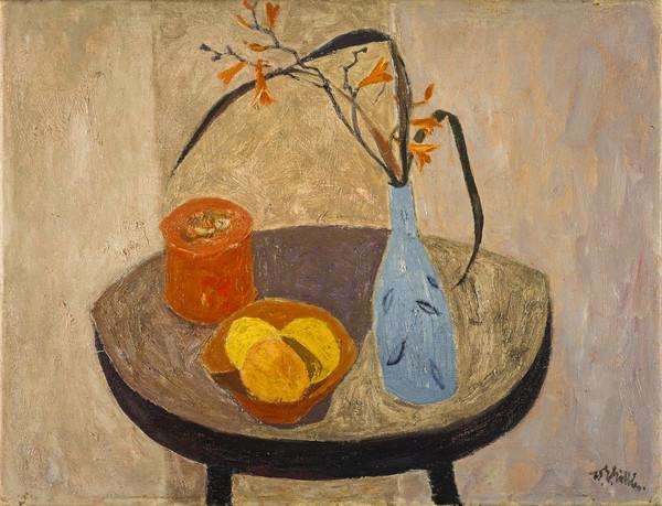 Still Life with Blue Vase (About 1954)
