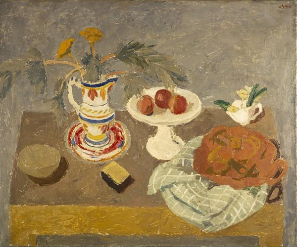 Still Life, Breton Pot (About 1942)