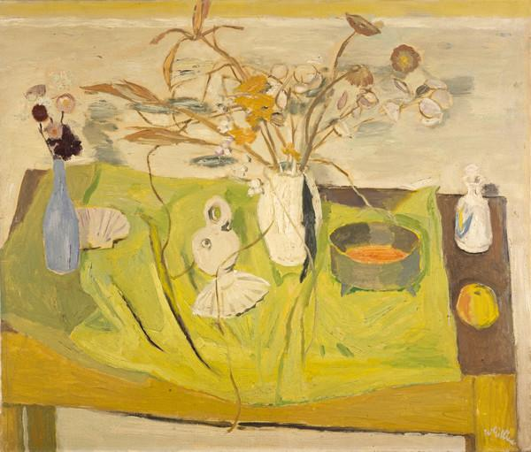 Still Life, Dried Flowers and Grasses (Mid 1950s)