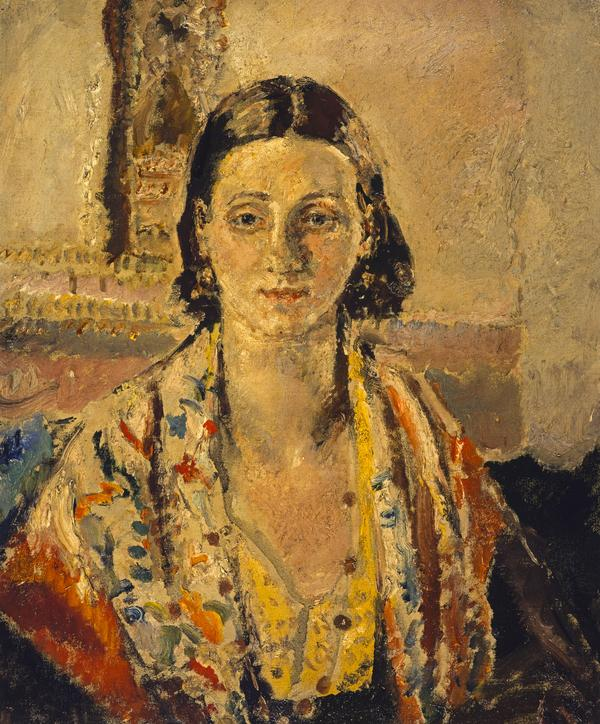 The Spanish Shawl (About 1921 - 1926)