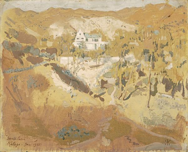 Santa Lucia, Malaga (Dated 1935)