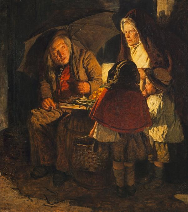 The Night Stall (Dated 1860)