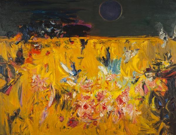 Birds, Flowers and Dark Sun (About 1962)
