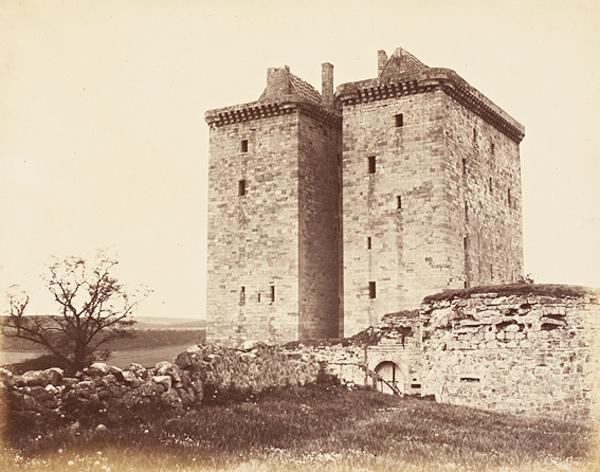 Borthwick Castle (About 1860)