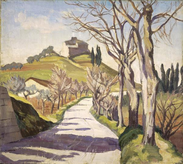 Tuscan Landscape (About 1930)