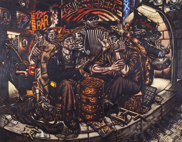 Glasgow Triptych: The Apprentices (1986)