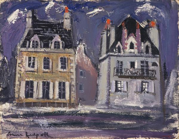Two Houses, Concarneau (About 1954)