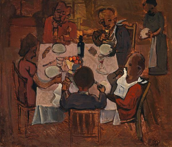 Le Dejeuner [The Lunch] (Dated 1935)