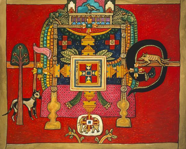 Meditations on Jain Cosmology No. 4 (1984)