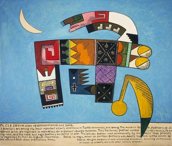 Hopi Studies No. 30 (Big Blue) [Opus O.1171] (1990 - 1991)
