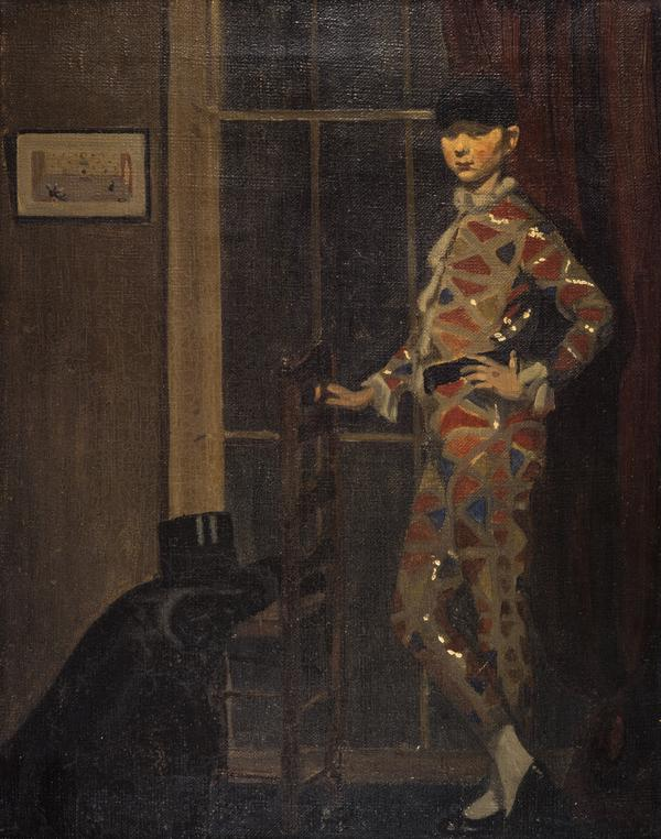 Harlequin with Chair (About 1908)