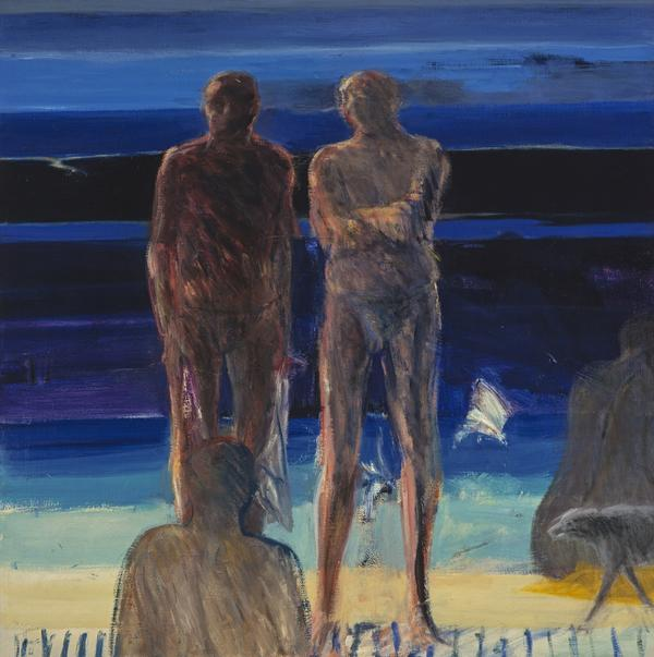 Bathers (Dated 1965 / 1966)