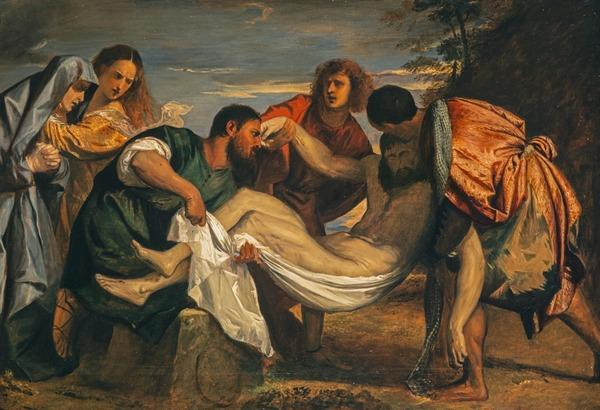 The Entombment of Christ (after Titian) (Probably 1830s)