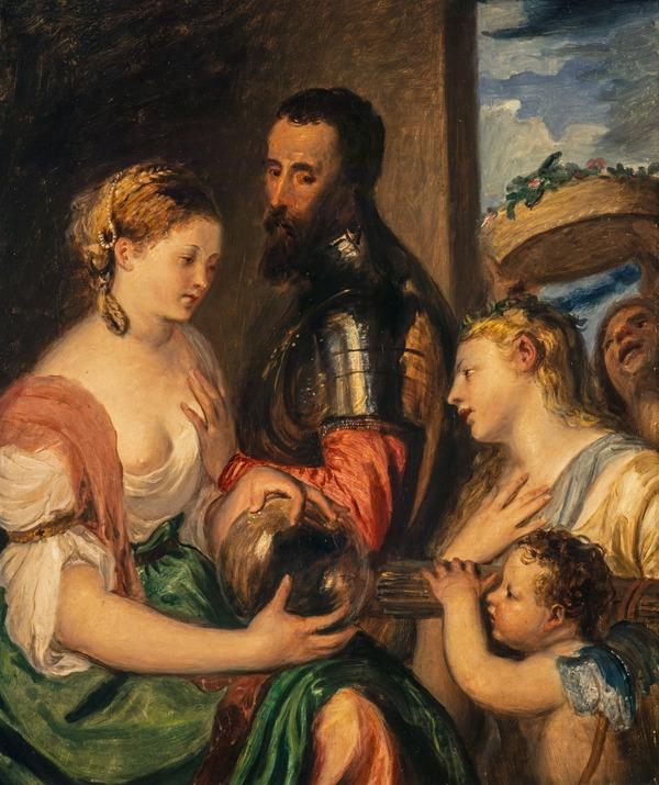 'Allegory of the Marques del Vasto' (after Titian) (probably 1830s)
