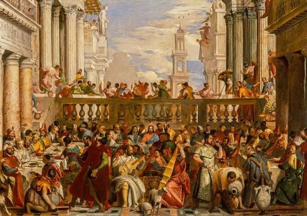 The Marriage at Cana (after Veronese) (probably 1830s)
