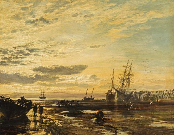 The Solway at Port Carlisle (1859)